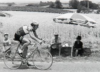 Michel Périn (cyclist) - Périn in the 1976 Tour de France