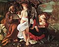 Michelangelo Merisi da Caravaggio - Rest on Flight to Egypt - WGA04096.jpg
