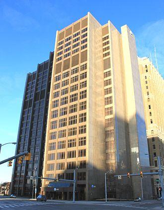 Michigan Bell - Michigan Bell Headquarters Building, Detroit