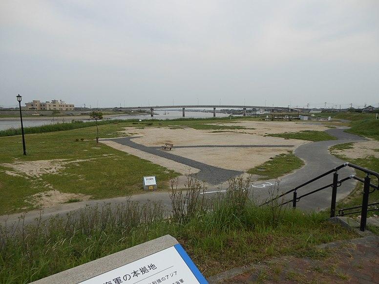 Mietsu Naval Dock view south