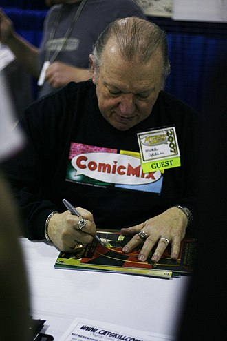 Mike Grell - Grell at the 2007 Pittsburgh Comicon