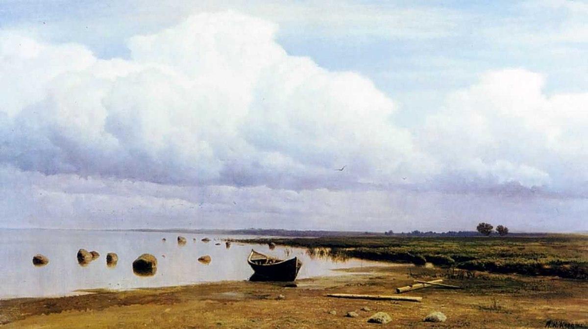 Mikhail Clodt Gulf Of Finland Coast.jpg