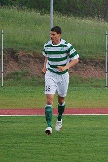Mikk Reintam Estonian footballer