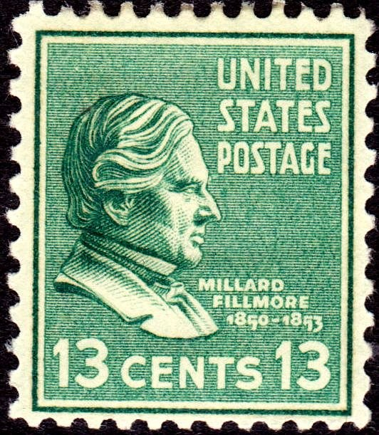 Millard Filmore Issue of 1938-13c