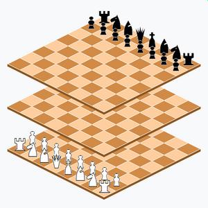 Millennium 3D Chess - Millennium 3D Chess starting position