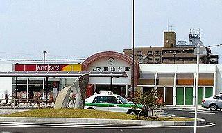 Minami-Sendai Station Railway station in Sendai, Japan