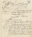 Minute d'arrêté du Directoire exécutif rapportant un arrêté du 27 nivôse an IV (17 janvier 1796) - Archives Nationales - AF-III-454 - (1).jpg