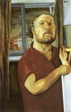 Misha Brusilovsky. Self-portrait. 1998.png