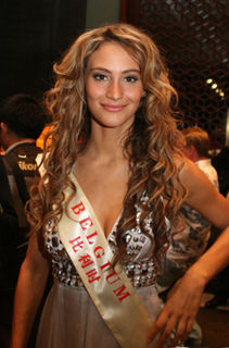 Halima Chehaima Belgian beauty queen
