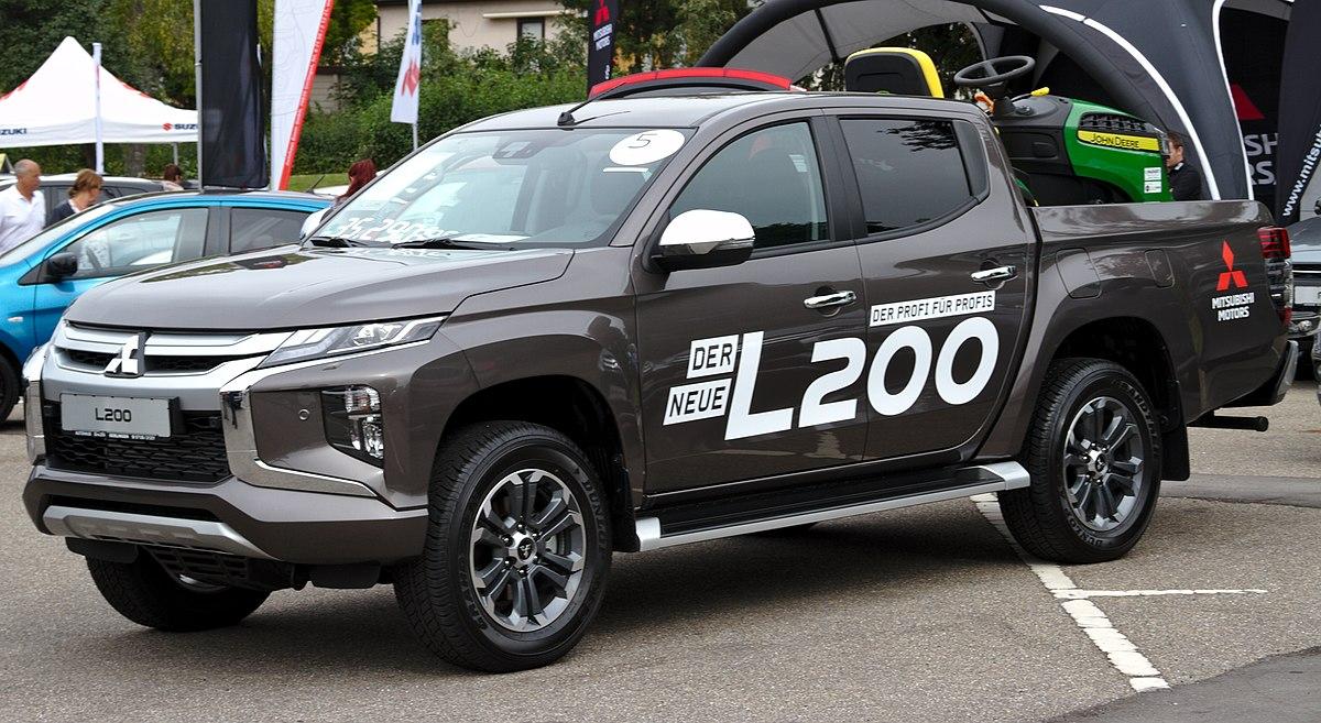 2020 Mitsubishi L200 New Concept