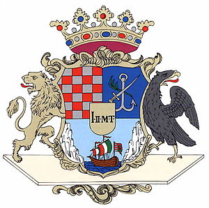 Counties of Croatia - Image: Modrus Fiume coatofarms