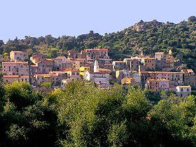 Vue du village de Moncale