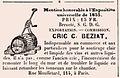 Moniteur Vinicole n° 11 première publicité illustrée mercredi 3 septembre 1856.jpg
