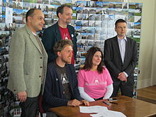 MonmouthpediA Celebration Day signing agreement.JPG