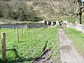 Monsal Dale - Approach to Footbridge over the River Wye - geograph.org.uk - 756606.jpg