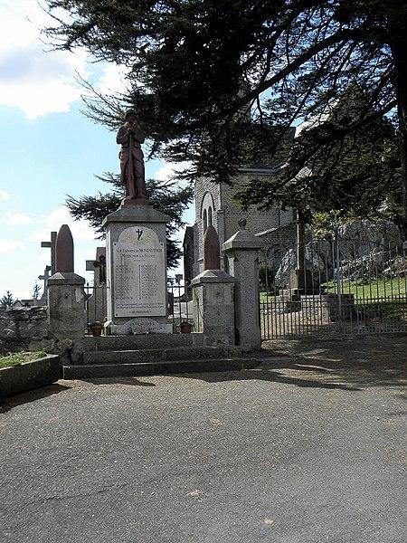 Monument aux morts de Montautour (35).