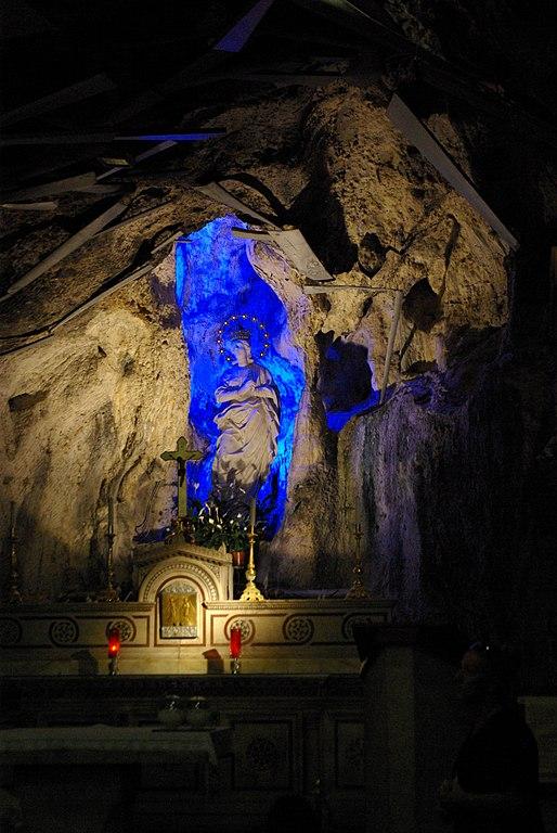 Sanctuaire Sainte Rosalie sur le monte Pellegrino à Palerme.