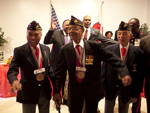Montford Point Marines celebrate Black History Month with winner 130209-M-OT339-204