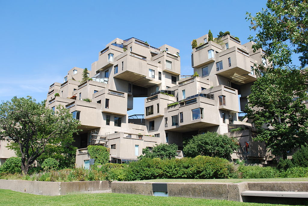 Early works by great architects skyscrapercity for Habitat 67 architecture