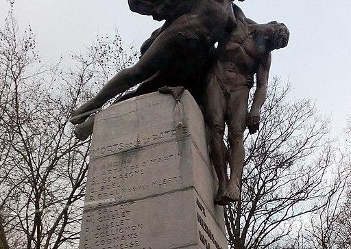 Monument héros aviation 1918 (Bruxelles)