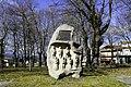 Monumento á banda de gaitas, Amoeiro.jpg