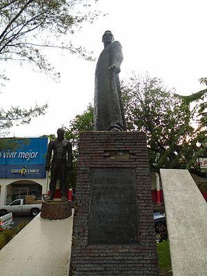 Zacatecoluca, La Paz - José Simeón Cañas monument.