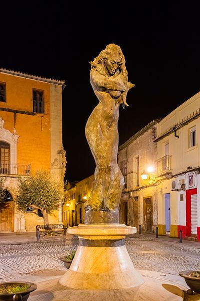 File monumento a lola flores calle ram n de cala jerez for Calle prado jerez madrid