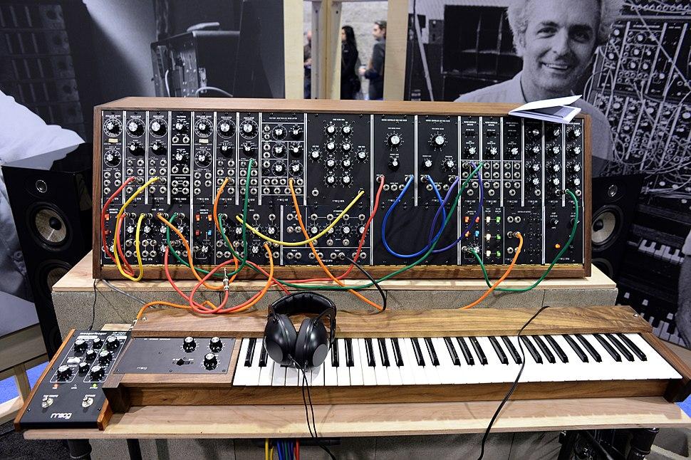 Moog System 35 - 2015 NAMM Show