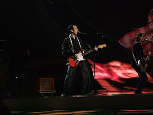 Turkey in the Eurovision Song Contest - Image: Mor ve Ötesi, Turkey, ESC 2008, 2nd semifinal