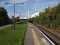 Morden South stn look north.JPG