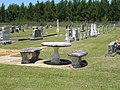 More Cemetery Furniture - Beulah Cemetery, Choctaw County, Mississippi.jpg