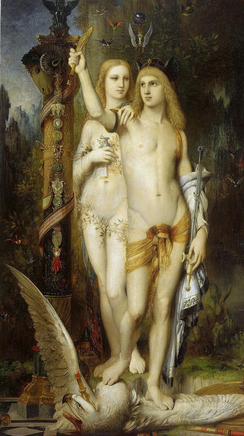 Jasón y Medea, de Gustave Moreau.