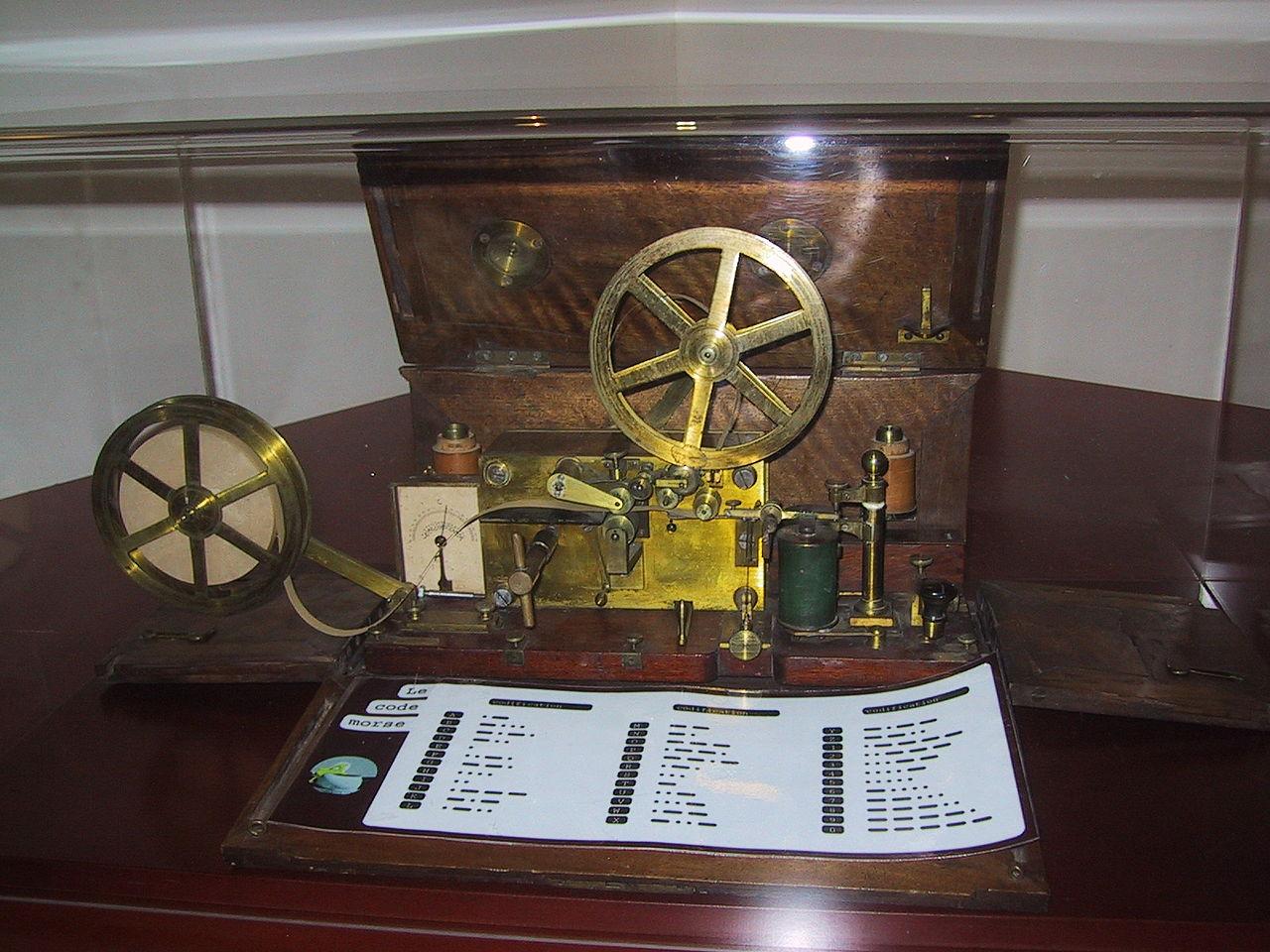 Télégraphe - Morse - Technologie - Ancien - Communication