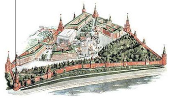 Moscow Kremlin map - Vodovzvodnaya Tower.png