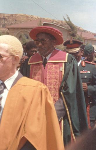 Moshoeshoe II of Lesotho - Moshoeshoe II.