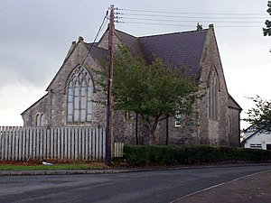 Moss Road, Annaghmore and Annaghmore Parish Church. - geograph.org.uk - 580970.jpg