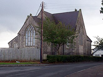 Annaghmore, County Armagh - Image: Moss Road, Annaghmore and Annaghmore Parish Church. geograph.org.uk 580970