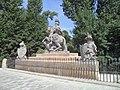 Most z pomnikiem Jana III Sobieskiego.JPG