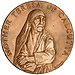 Mother Teresa Congressional Gold Medal (front).jpg