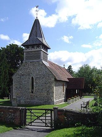 Moulsford - St John the Baptist parish church, Moulsford