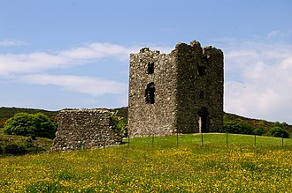 Ring of Gullion AONB -  Moyry Castle, May 2008