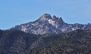 Hualapai Peak mountain in Arizona, United States of America
