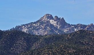 Hualapai Peak - Image: Mt. Hualapai Peak panoramio