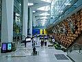 Mudra artwork at IGI Airport.jpg