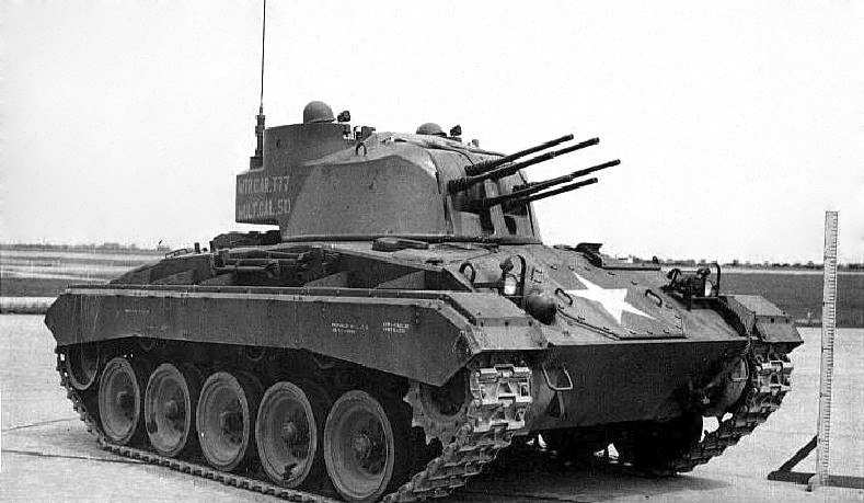 Multiple .50 caliber Gun Motor Carriage T77