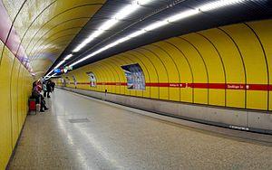 Munich U-Bahn - Sendlinger Tor platform U1/U2