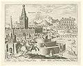 Muren van Babylon Babylonis Mvri (titel op object) De acht wereldwonderen (serietitel), RP-P-1904-3304.jpg