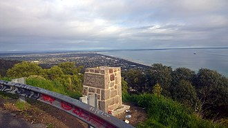 Arthurs Seat, Victoria - View from Arthurs Seat towards Port Phillip heads