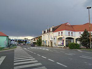 Mursko Središće - Town centre