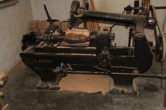 Lurcy-Lévis - Image: Musée des métiers du bois de Labaroche 157